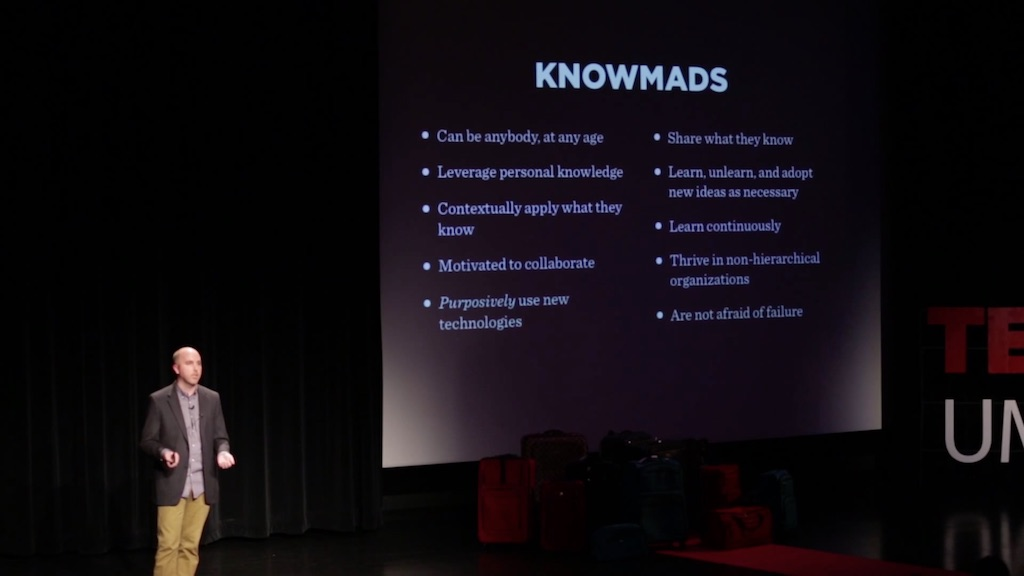 Rise of knowmads: John Moravec at TEDxUMN
